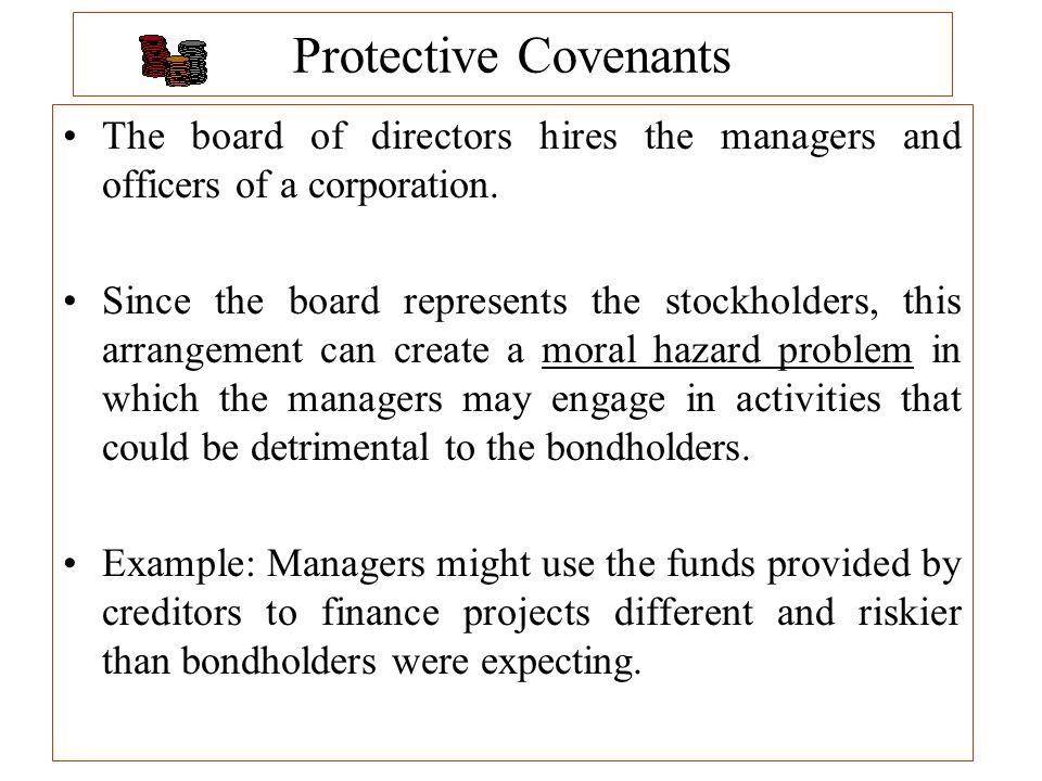 protective covenants of bond issues Bond covenants and skeptic skepticism also antitrust, bitcoin, unicorns, buybacks and liquidity  you could imagine a theoretical world where a company could issue bonds for 4 percent with.