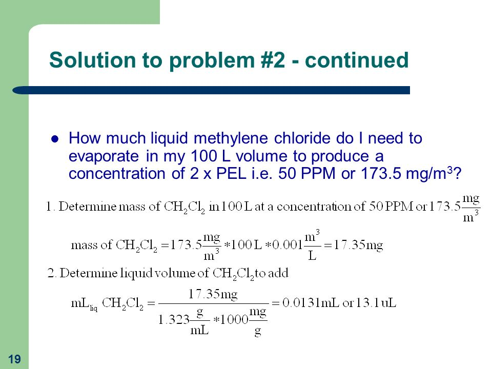 Solution to problem #2 - continued