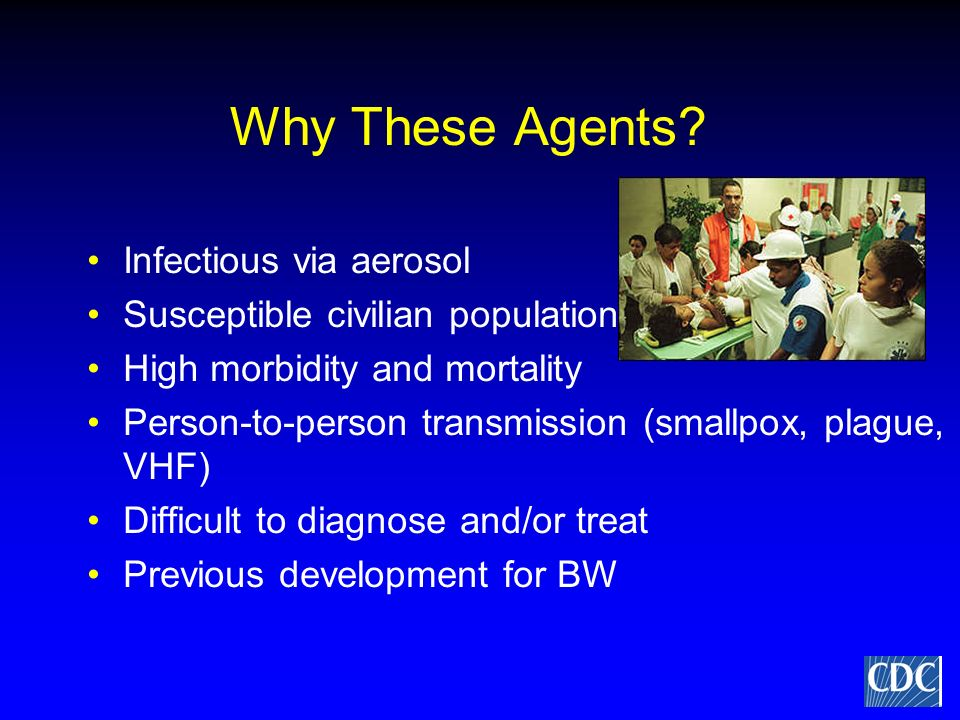 Why These Agents Infectious via aerosol