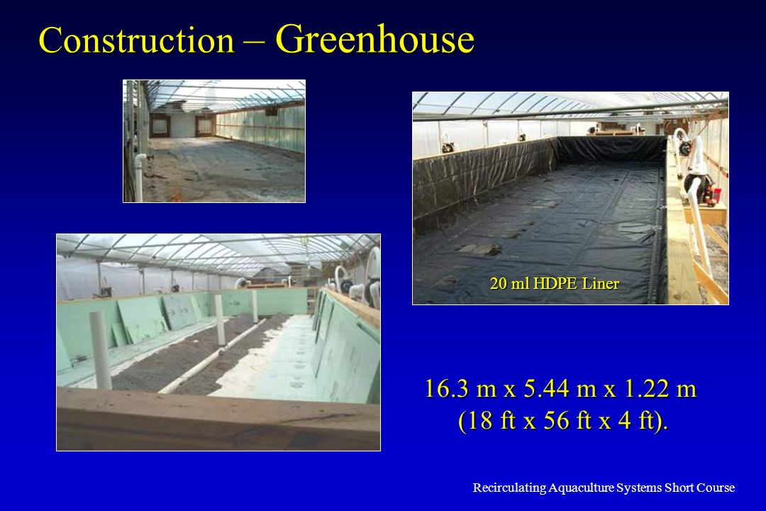 Construction – Greenhouse