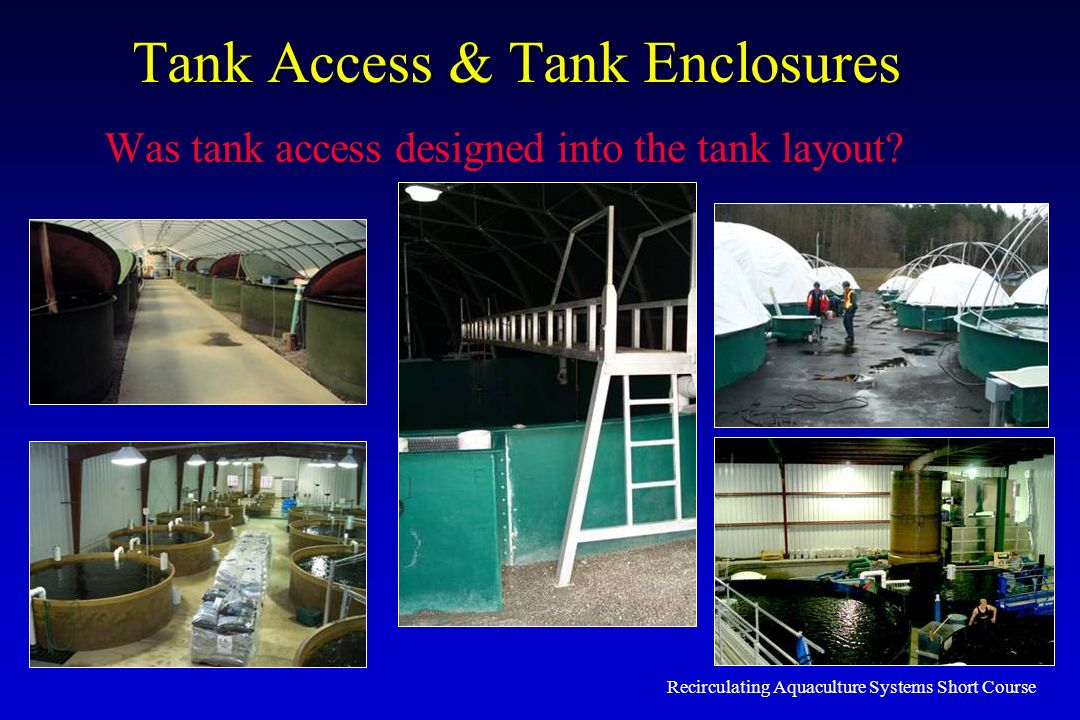 Tank Access & Tank Enclosures