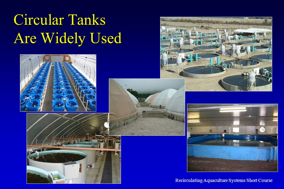 Circular Tanks Are Widely Used