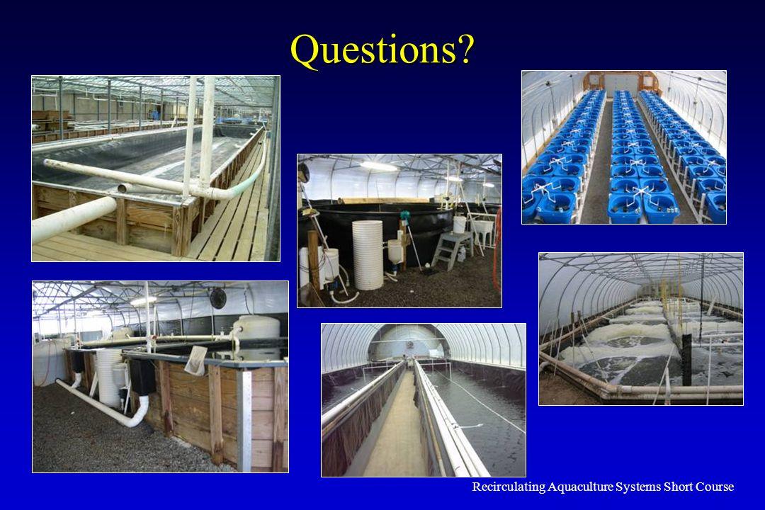 Recirculating Aquaculture Systems Short Course