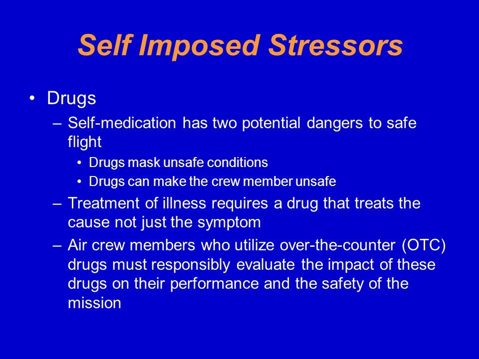 Self Imposed Stressors