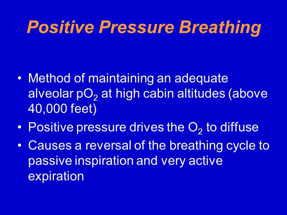 Positive Pressure Breathing