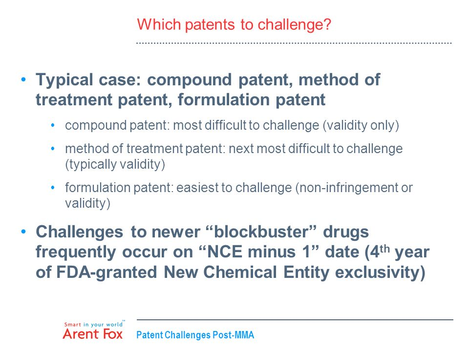Which patents to challenge