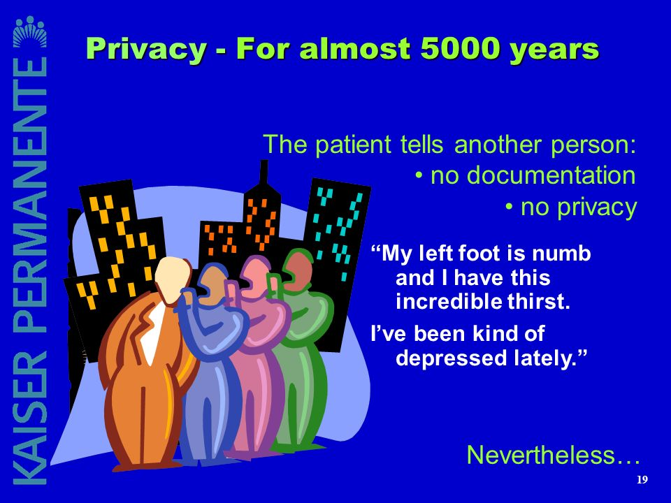 Privacy - For almost 5000 years