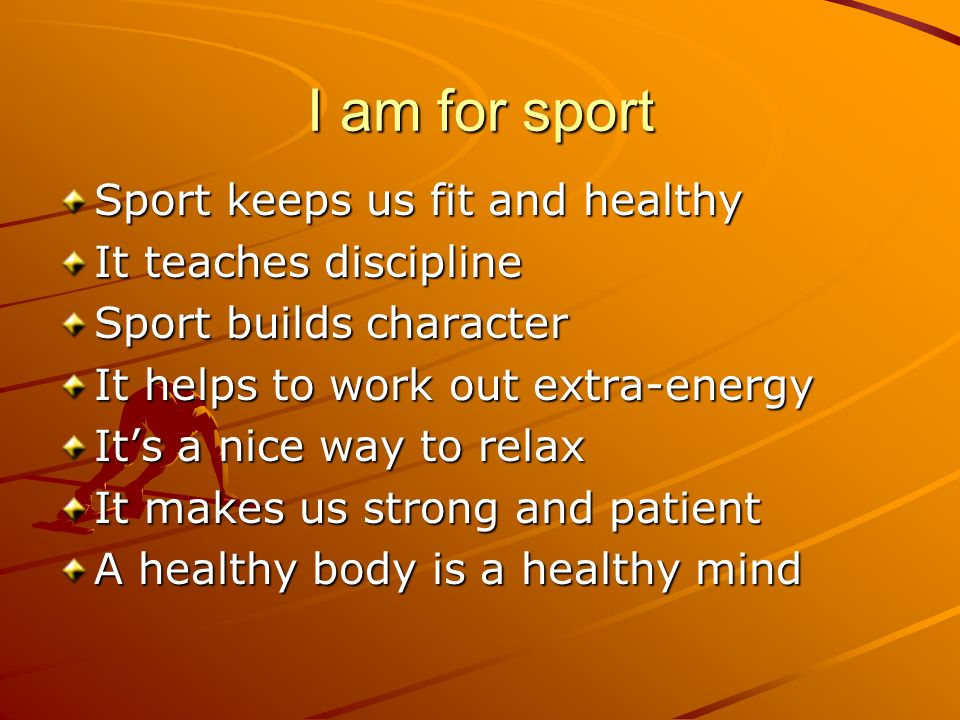 A healthy body makes a healthy mind essay