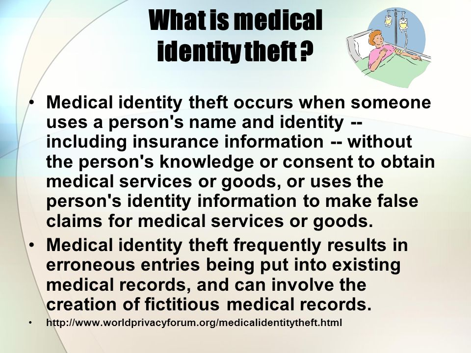 What is medical identity theft