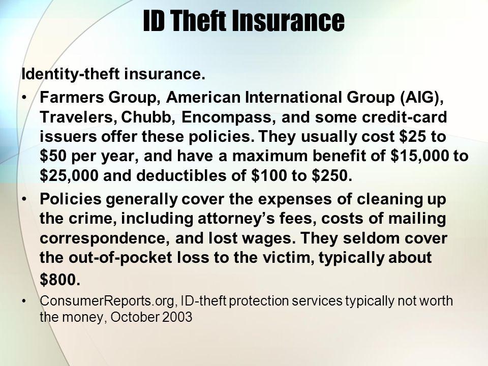 ID Theft Insurance Identity-theft insurance.