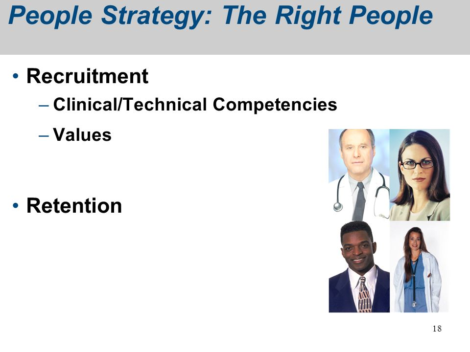 People Strategy: The Right People