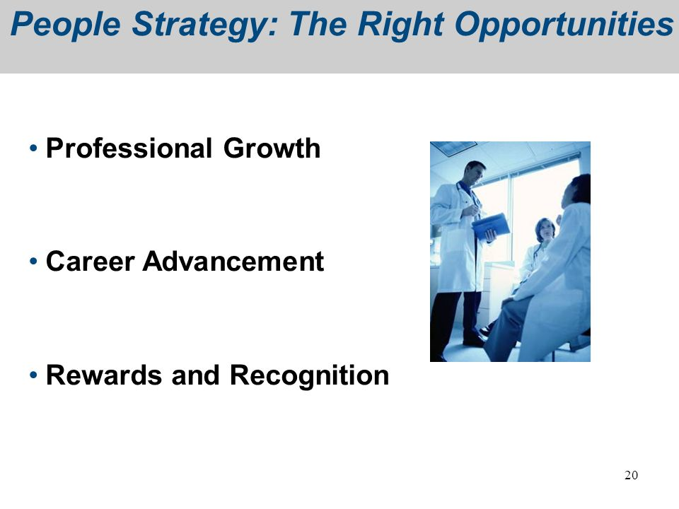 People Strategy: The Right Opportunities