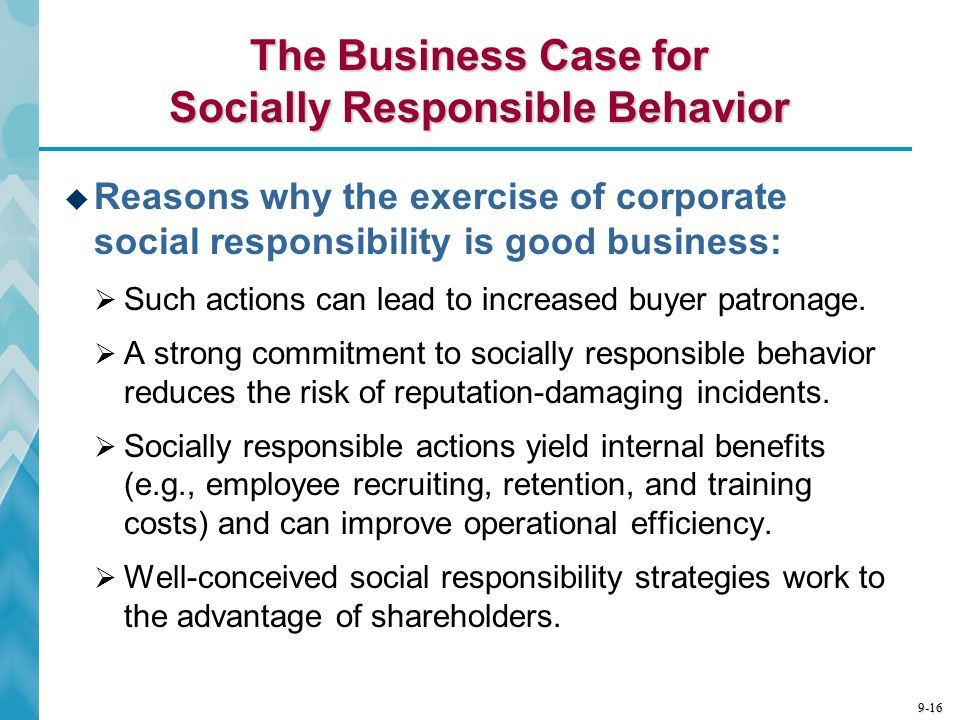 Business Strategy and Corporate Social Responsibility