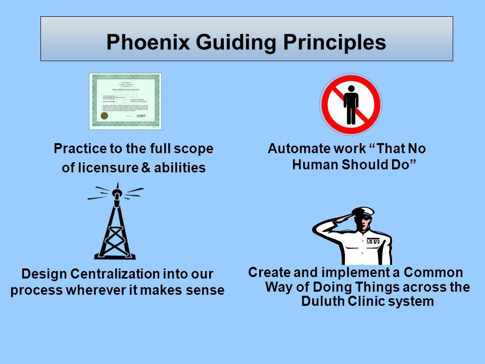 Phoenix Guiding Principles