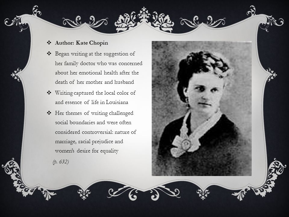 a report of desirees baby by kate chopin
