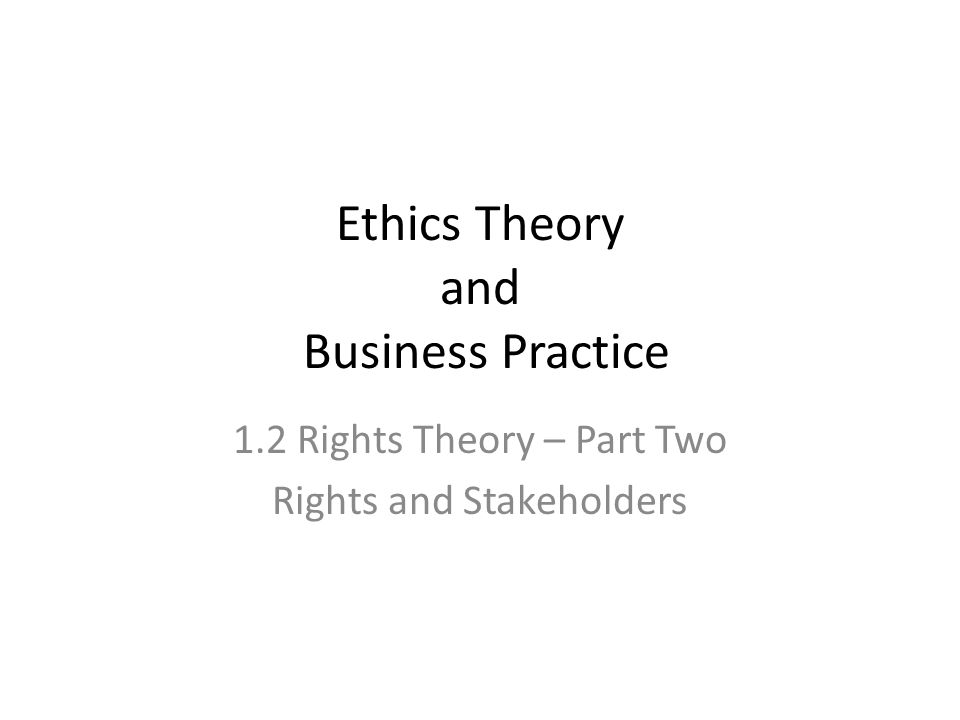 virtue ethics and morality in business