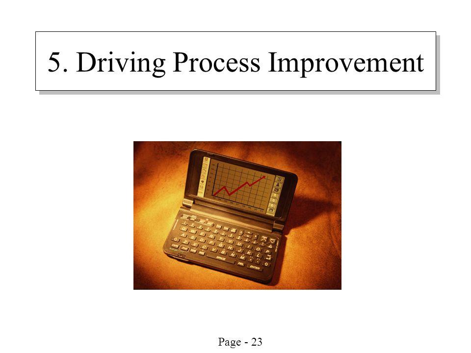 5. Driving Process Improvement