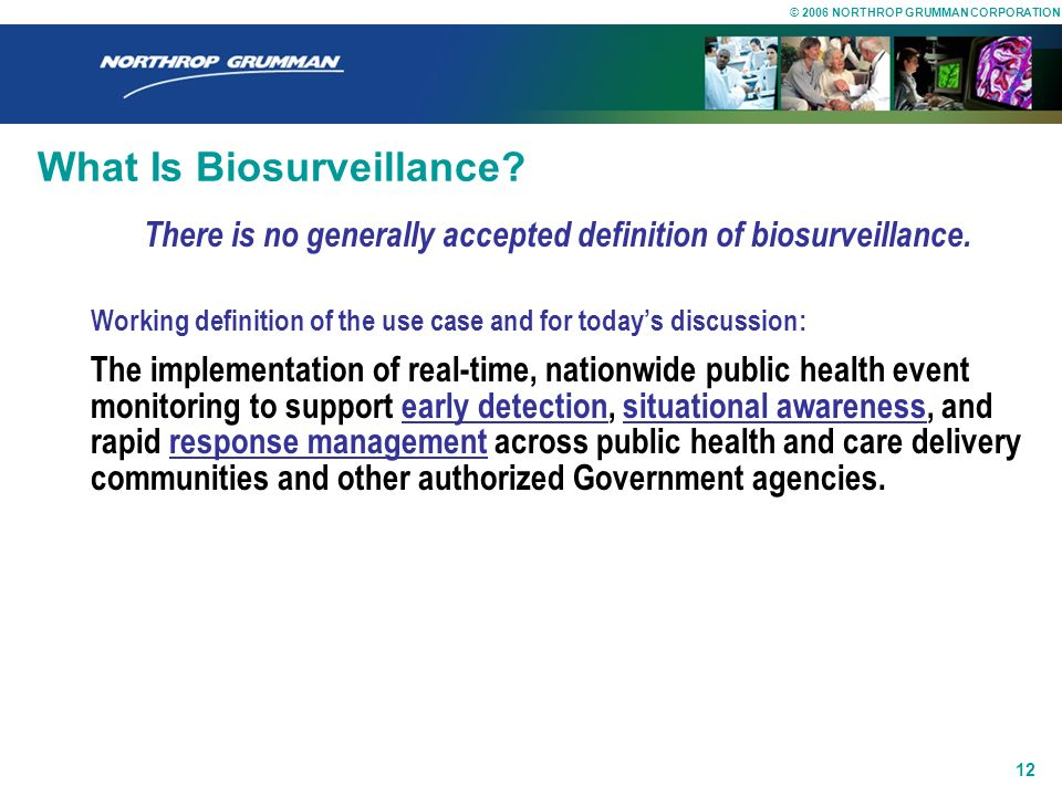 What Is Biosurveillance