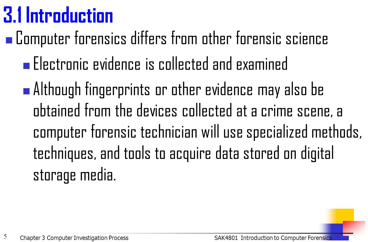 an introduction to computer crime investigations forensic research Keywords: computer crime, investigations, police, law enforcement, internet, high -tech, justice introduction criminal investigation has been a topic of study for.