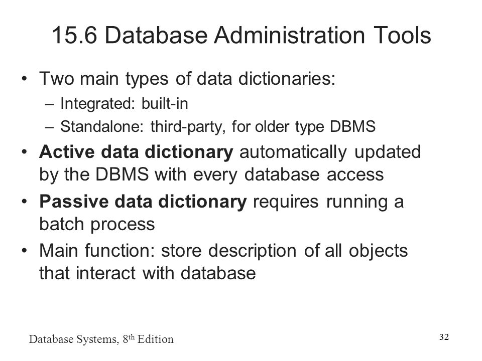 functions of database administrator pdf
