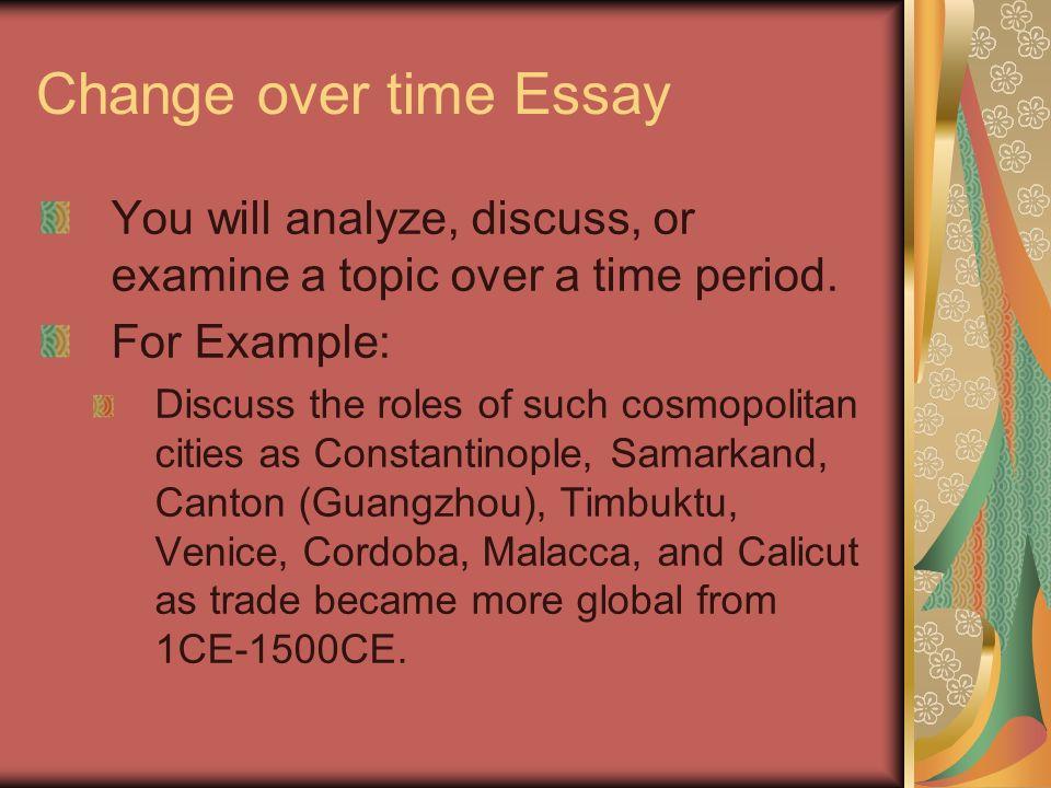 essays written over