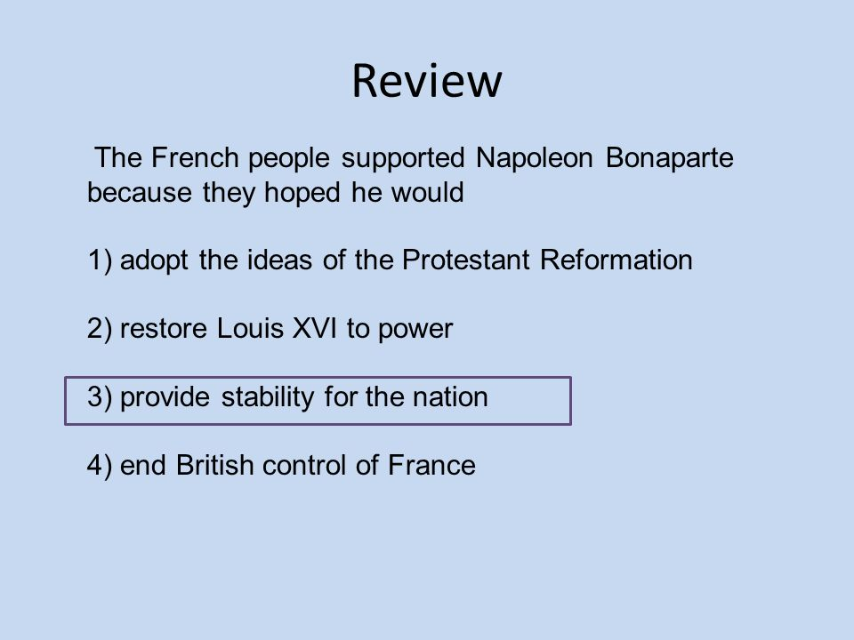 the french revolution and napoleon are main catalyst of change in europe Jeremy black sets the scene for our major series on the impact of napoleon on europe  napoleon and europe  that he was french napoleon was born in ajaccio on .