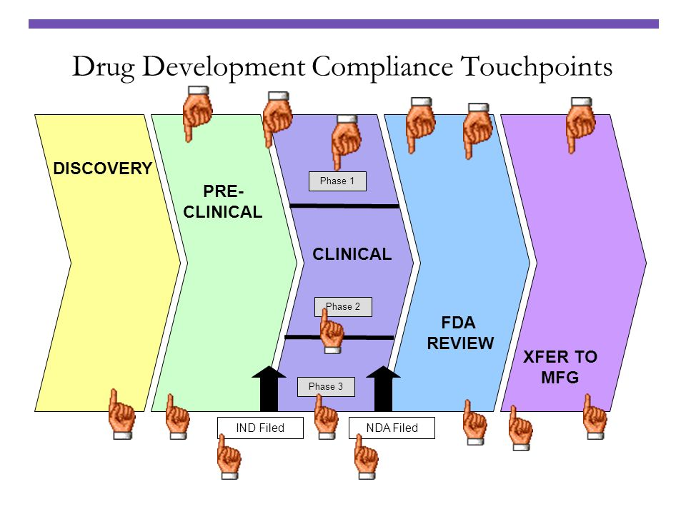 Drug Development Compliance Touchpoints