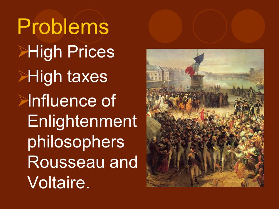 Problems High Prices High taxes