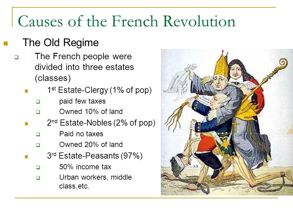 causes of the french revolution Tom mullaney shows how these questions challenged an entire nation during the upheaval of the french revolution lesson by tom mullaney, animation by sashko danylenko category.