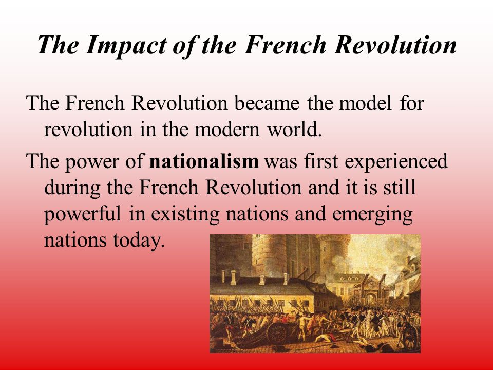 the influence of the french revolution on french romanticism Art movement, industrial revolution, art criticism, romantic artists,  creativity  that developed in direct response to the french revolution of.