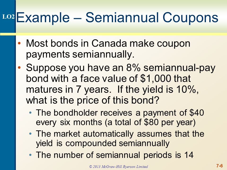 Valuing a Discount Bond with Annual Coupons ppt download – Example of a Coupon
