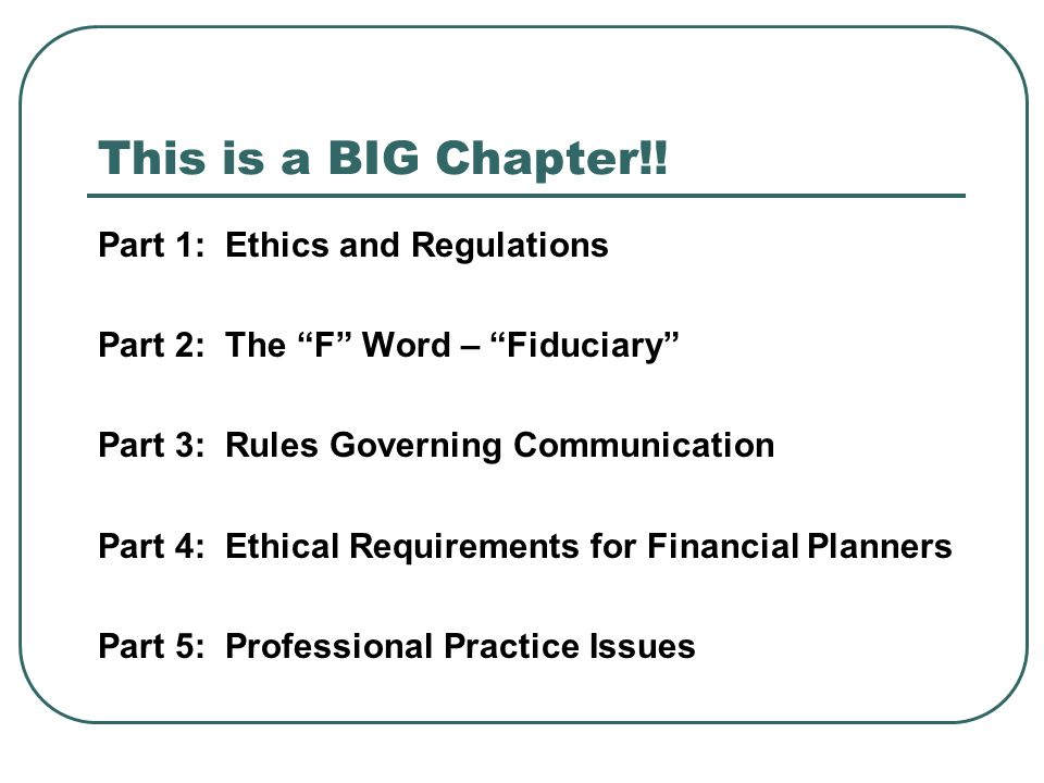 financial planners are facing ethical challenges For ethics credits, please order professional ethics for financial planners above important: by ordering total access ce from this page, you will only receive cfp ® certification renewal credit for the courses taken you will not receive insurance ce credit.