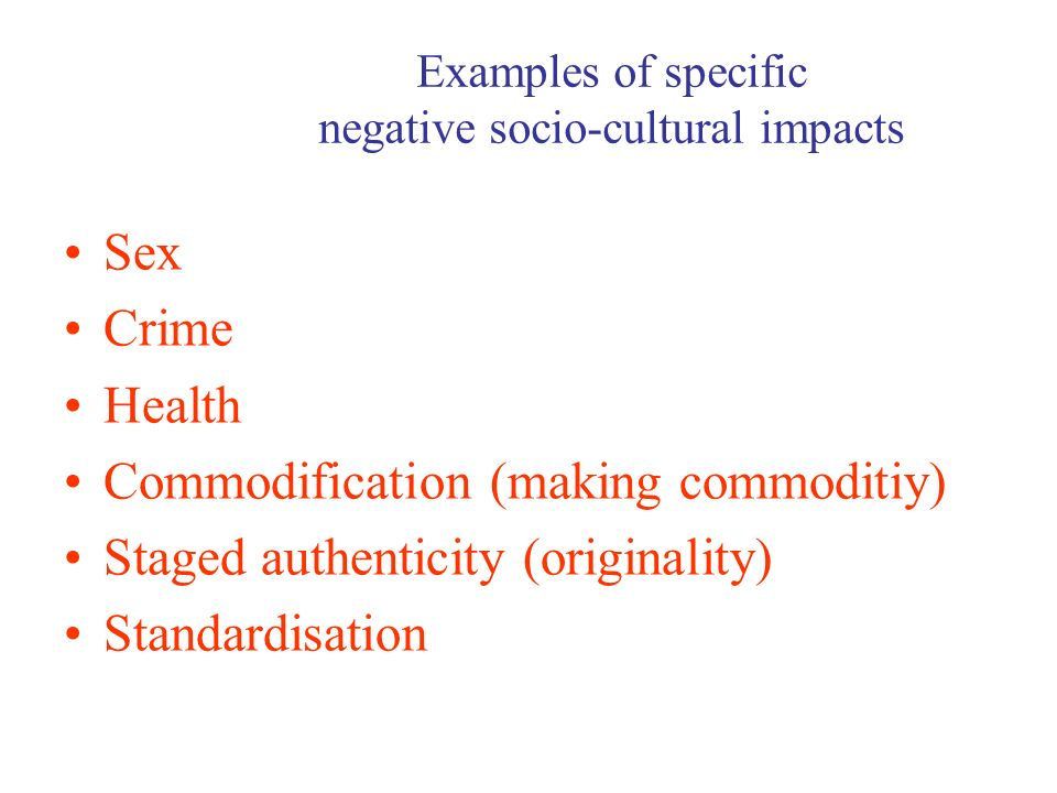 impact of culture on health Impact of culture on health health is a cultural concept because culture frames and shapes how we perceive the world and our experiences along with other determinants of health and disease, culture helps to define:.
