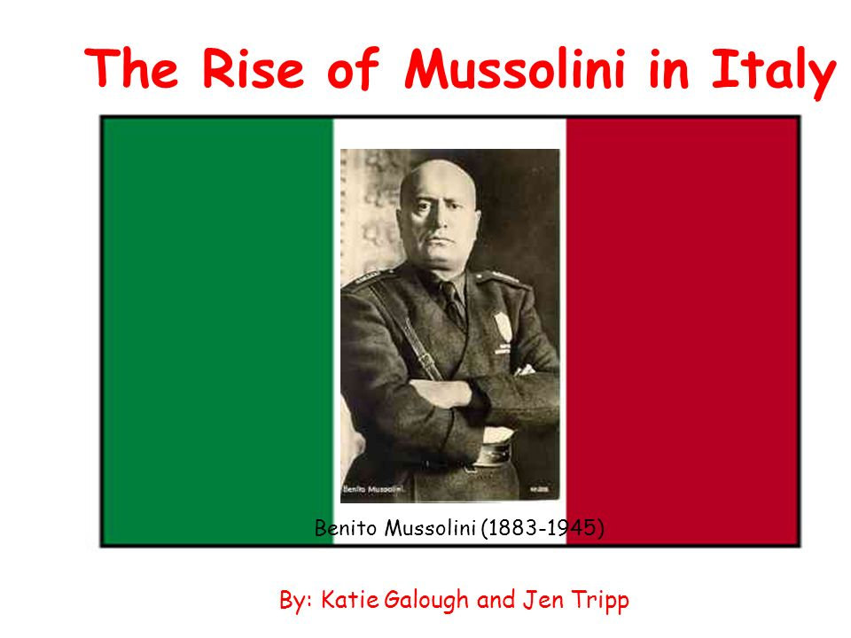 the rise of fascism in italy essay