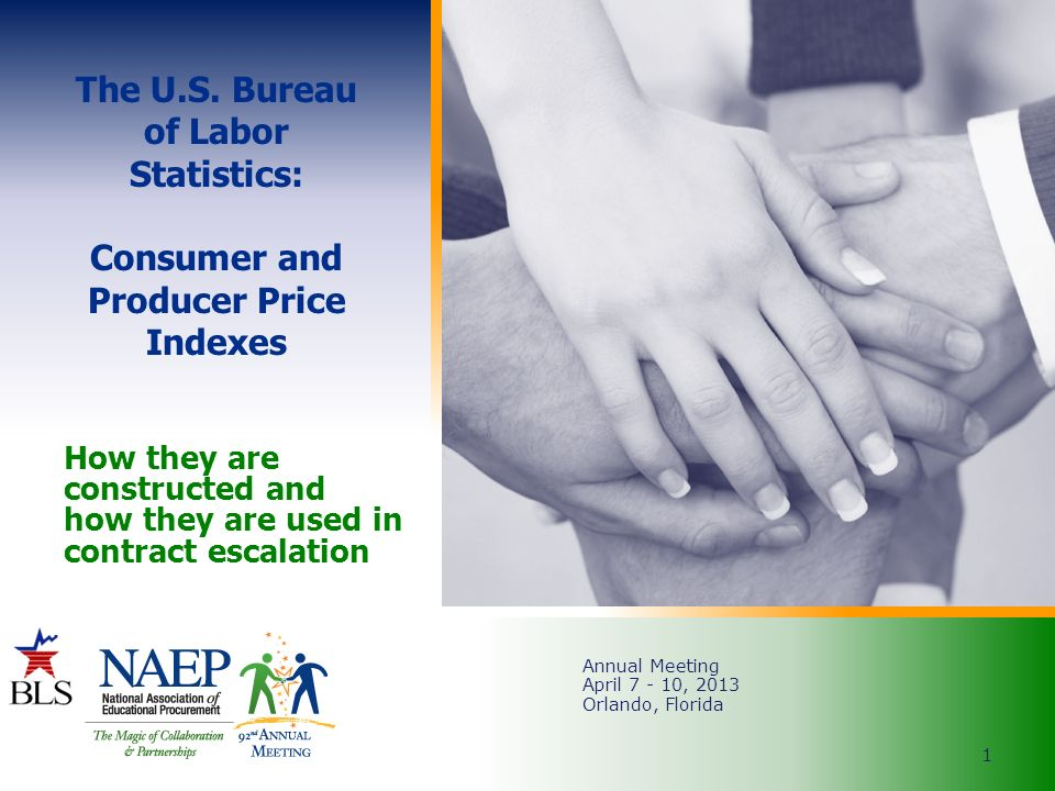 How they are constructed and how they are used in contract - Bureau of labor statistics consumer price index ...