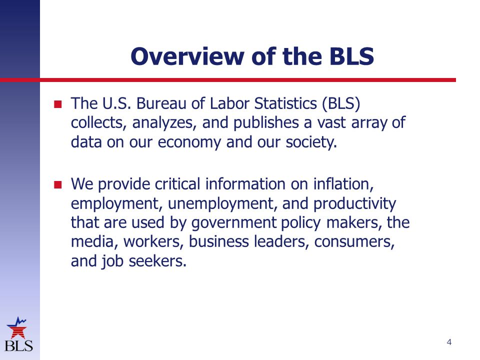 How they are constructed and how they are used in contract for Bureau of labor statistics