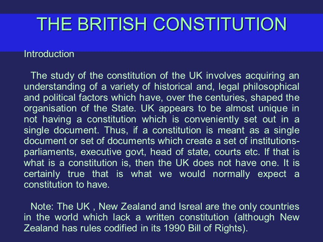 assess the most important constitutional changes To what extent have constitutional reforms introduced since 1997 made the uk more democratic essay assess the most important constitutional changes introduced in.