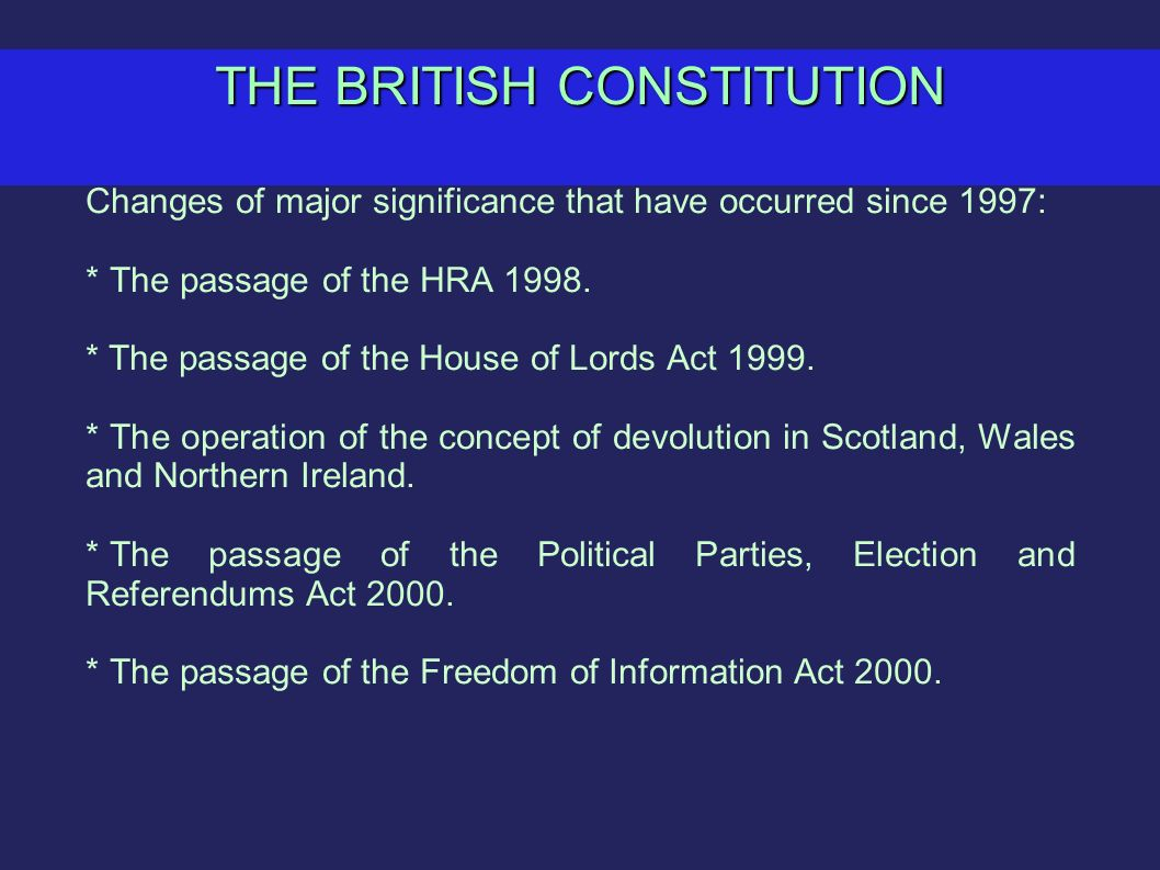 british constitution British constitution group - reasserting the constitution and the rule of law.