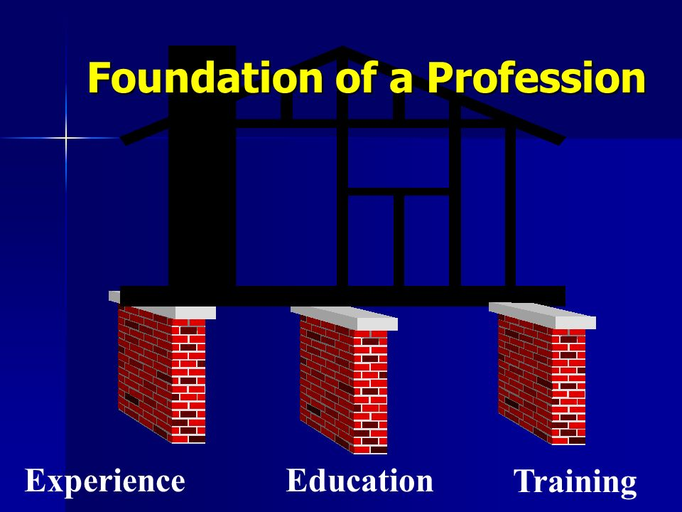 Foundation of a Profession