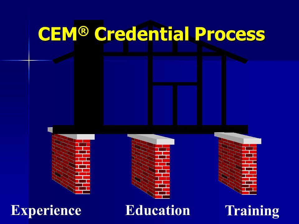 CEM® Credential Process