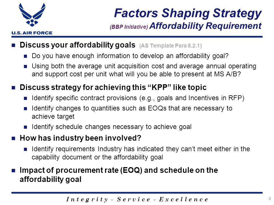 Acquisition strategy as panel template ppt download factors shaping strategy bbp initiative affordability requirement pronofoot35fo Image collections