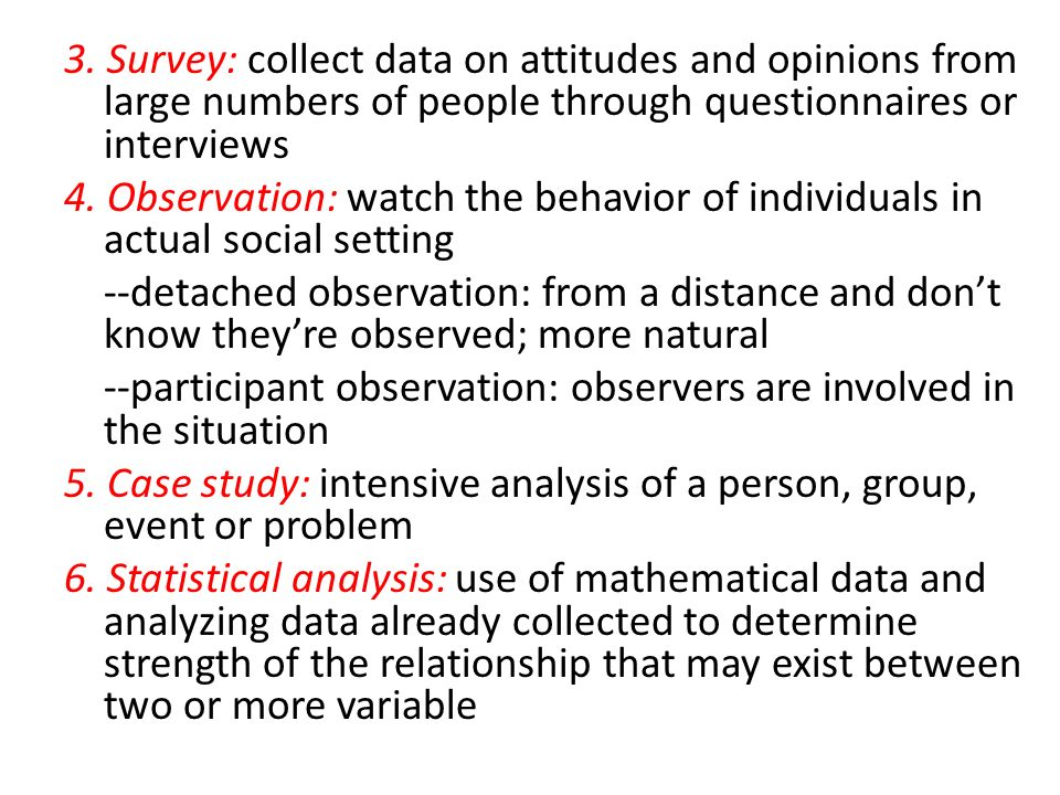 an analysis of observation and person involved Observation a guide contents section 1: why observation introduction what is observation what does observation look like will ethical approval be required.