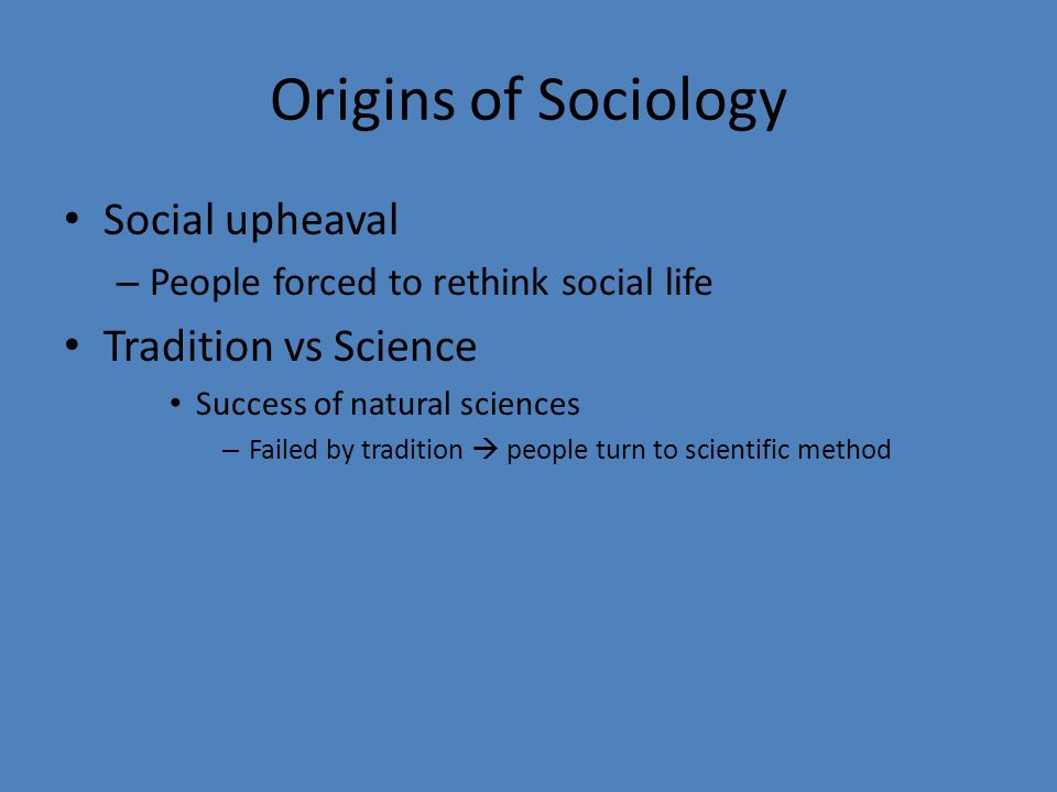Is Sociology As Scientific As Natural Sciences