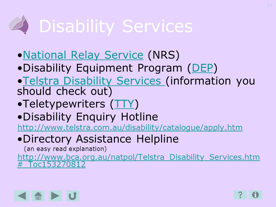 Disability Services National Relay Service (NRS)
