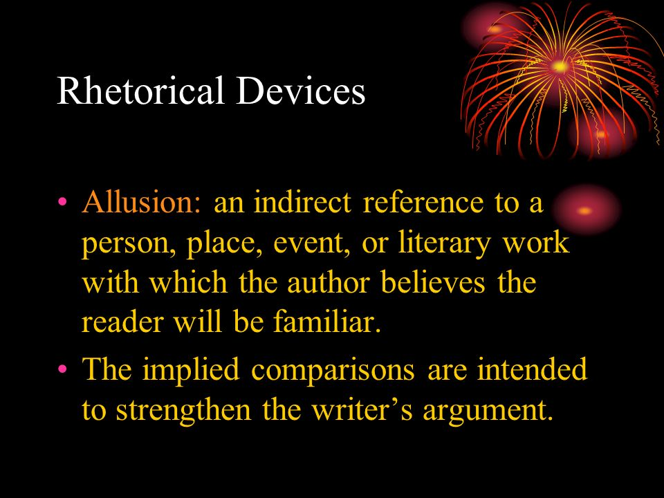 Literary Devices Allusion Examples Choice Image Example Cover