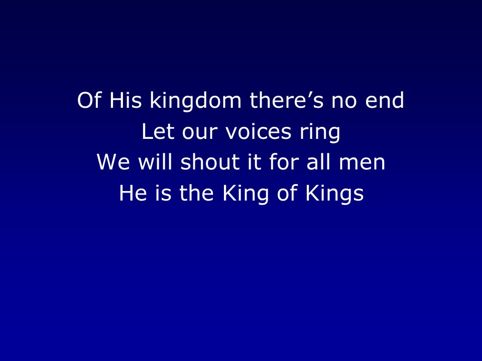 Our Voices Will Ring Forever As One