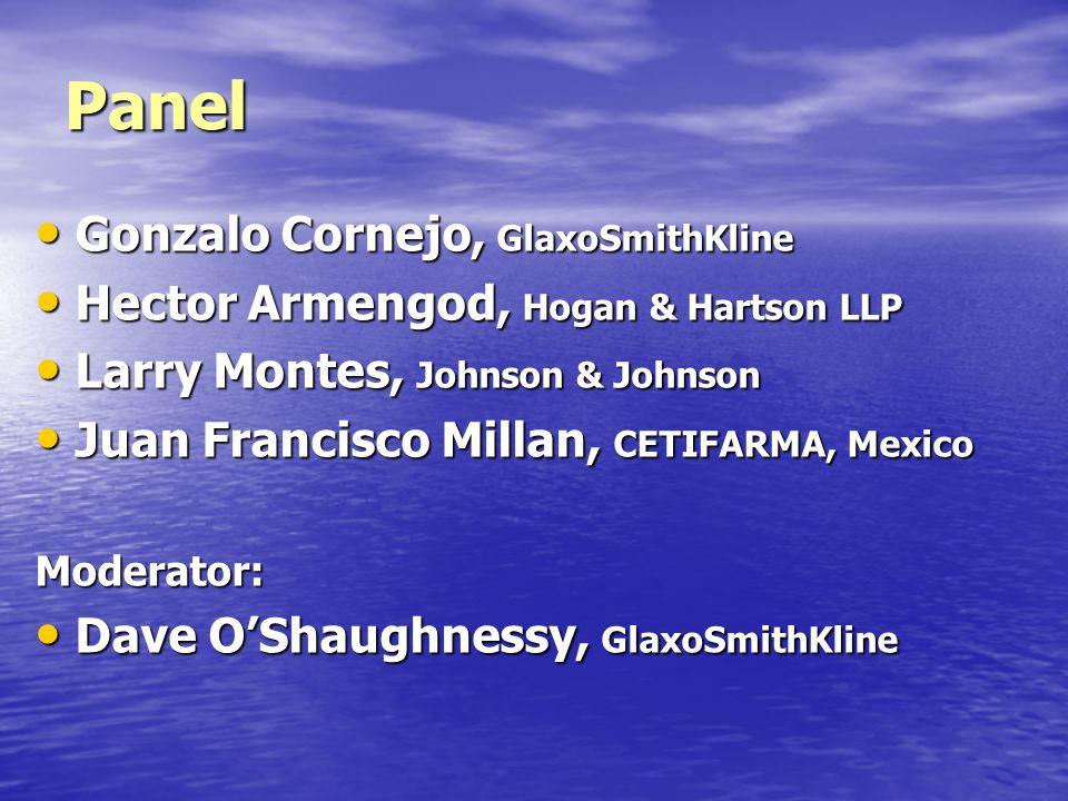 Panel Gonzalo Cornejo, GlaxoSmithKline