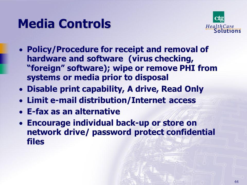 Media Controls