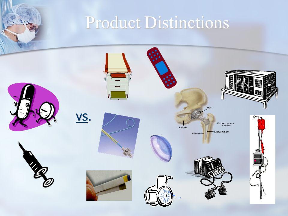 Product Distinctions vs.