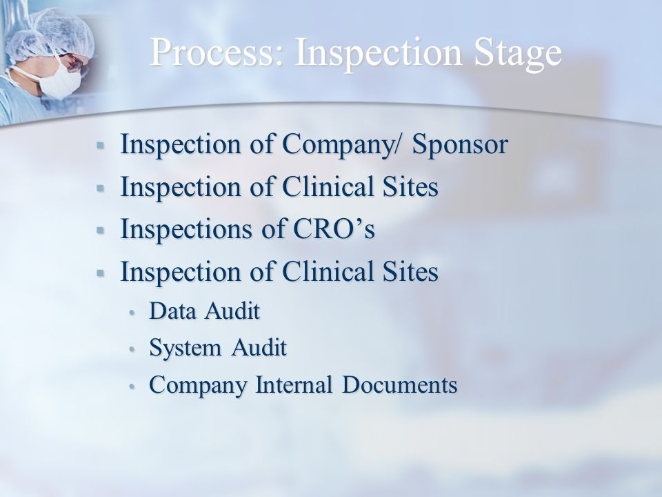 Process: Inspection Stage